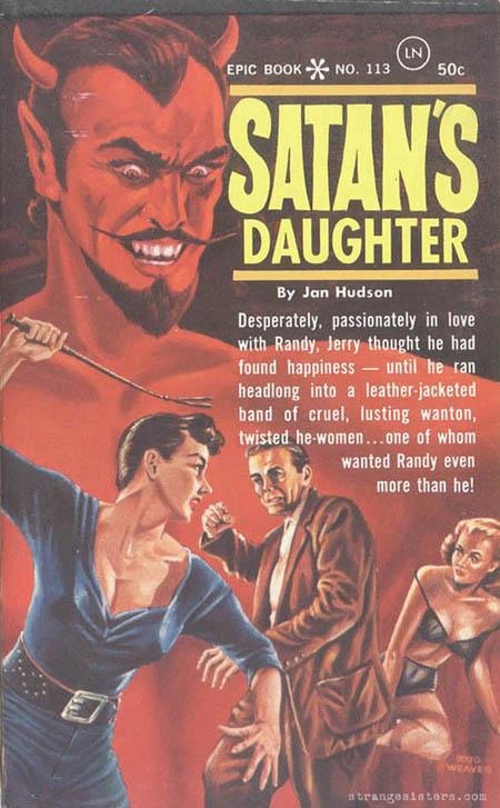 50s Bdsm - Strange Sisters lesbian BDSM pulp
